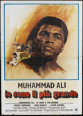 "Movie Posters:Sports, The Greatest (Columbia, 1977). Italian 4 - Folio (55"" X 78""). Sports.. ..."