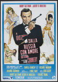 "Movie Posters:James Bond, From Russia with Love (Dear Film, R-1970s). Italian 2 - Folio (39""X 55""). James Bond.. ..."