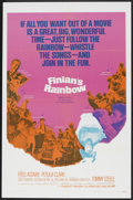 """Movie Posters:Fantasy, Finian's Rainbow (Warner Brothers, 1968). One Sheet (27"""" X 41""""),Lobby Card Set of 8 (11"""" X 14""""), and Pressbook (11"""" X 17"""")....(Total: 10 Items)"""