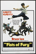 "Movie Posters:Action, Fists of Fury Lot (National General, 1973). One Sheets (2) (27"" X41"") and Lobby Card Set of 8 (11"" X 14""). Action.. ... (Total: 10Items)"