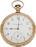 Timepieces:Pocket (pre 1900) , Hamilton Grade 968 Pocket Watch, circa 1898. ...