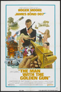 """Movie Posters:James Bond, The Man With the Golden Gun (United Artists, 1974). One Sheet (27""""X 41""""). James Bond.. ..."""
