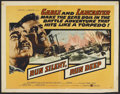 "Movie Posters:War, Run Silent, Run Deep (United Artists, 1958). Half Sheet (22"" X 28"")and Lobby Cards (7) (11"" X14""). War.. ... (Total: 8 Items)"