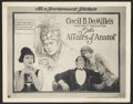 "Movie Posters:Drama, The Affairs of Anatol (Paramount, 1921). Title Card and Lobby Card (11"" X 14""). Drama.. ... (Total: 2 Items)"