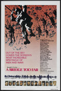 "Movie Posters:War, A Bridge Too Far (United Artists, 1977). One Sheets (2) (27"" X41""), Production Notes (Multiple Pages, 8.5"" X 11"") and Pres...(Total: 4 Items)"