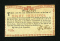 Colonial Notes:New York, New York August 2, 1775 (Water Works) 8s About New....