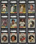 Baseball Cards:Sets, 1961 Topps Baseball High Grade Complete Set (587)....