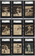 "Baseball Cards:Lots, 1934-36 R318 National Chicle ""Batter Up"" High-Numbers Collection of (26). ..."