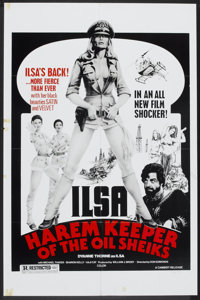 """Ilsa, Harem Keeper of the Oil Sheiks (Cambist Films, 1976). One Sheet (27"""" X 41""""). Cult Classic"""