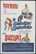 "Movie Posters:Rock and Roll, A Swingin' Summer (United Screen Arts, 1965). One Sheet (27"" X 41"")Style B. Rock and Roll.. ..."