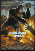 "Movie Posters:Adventure, King Kong Lives (DeLaurentis, 1986). One Sheet (27"" X 39.5"").Adventure.. ..."
