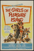 "Movie Posters:Comedy, The Girls of Pleasure Island (Paramount, 1953). One Sheet (27"" X 41""). Comedy.. ..."