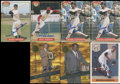 Autographs:Sports Cards, Baseball Hall Of Famers Signed Trading Cards Lot Of 7....