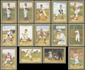 "Autographs:Sports Cards, 1990's Perez- Steele ""Greatest Moments"" Signed Lot Of 14. ..."