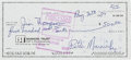 Basketball Collectibles:Others, 1984 Pete Maravich Signed Personal Check. ...