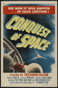 """Movie Posters:Science Fiction, Conquest of Space (Paramount, 1955). One Sheet (27"""" X 41""""). ScienceFiction.. ..."""