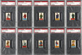 "Non-Sport Cards:Sets, 1949 R714-7 Topps ""Flags of All Nations/Soldiers of The World"" NearSet (85/94K) Plus Duplicates (67). ..."
