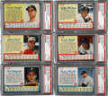Baseball Cards:Sets, 1962 Post Cereal Baseball Complete Set (200). ...
