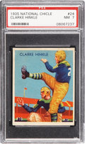 Football Cards:Singles (Pre-1950), 1935 National Chicle Clarke Hinkle #24 PSA NM 7....