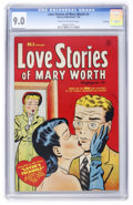Golden Age (1938-1955):Romance, Love Stories of Mary Worth #3 File Copy (Harvey, 1950) CGC VF/NM9.0 Cream to off-white pages....
