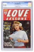 Golden Age (1938-1955):Romance, Love Lessons #2 File Copy (Harvey, 1949) CGC VF/NM 9.0 Cream to off-white pages....