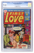 Golden Age (1938-1955):Romance, First Love Illustrated #15 File Copy (Harvey, 1951) CGC VF/NM 9.0Cream to off-white pages....