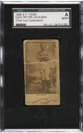 Boxing Cards:General, 1888 N332 S.F. Hess Peter Jackson SGC Authentic....