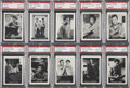 "Non-Sport Cards:Lots, 1967 Topps ""Star Trek"" PSA NM-MT 8 Graded Group of (10). ..."