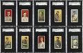Baseball Cards:Sets, 1909-11 T206 White Border Partial Set (311)....