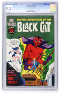 Silver Age (1956-1969):Superhero, Black Cat #64 (Harvey, 1963) CGC NM- 9.2 Off-white to whitepages....