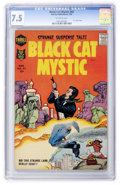 Silver Age (1956-1969):Horror, Black Cat Mystery #62 (Harvey, 1958) CGC VF- 7.5 Off-white pages....