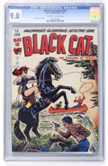 Golden Age (1938-1955):Superhero, Black Cat Comics #15 (Harvey, 1949) CGC VF/NM 9.0 Off-white to white pages....