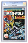 Bronze Age (1970-1979):Horror, Creatures on the Loose #36 Man-Wolf (Marvel, 1975) CGC NM+ 9.6Off-white to white pages....