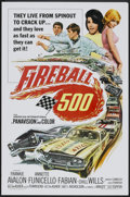 "Movie Posters:Action, Fireball 500 (American International, 1966). One Sheet (27"" X 41"")and Pressbook (11"" X 17""). Action.. ... (Total: 2 Items)"