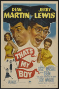 """Movie Posters:Comedy, That's My Boy (Paramount, 1951). One Sheet (27"""" X 41""""). Comedy.. ..."""