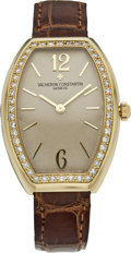 "Timepieces:Wristwatch, Vacheron Constantin Lady's ""Egerie"" with Diamonds, circa 2000. ..."