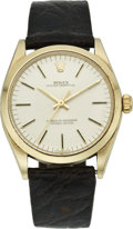 Timepieces:Wristwatch, Rolex Ref. 1005 Men's Gold Oyster Perpetual, circa 1980. ...