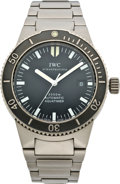 Timepieces:Wristwatch, IWC Aquatimer GST Ref. 3536 Dive Watch, circa 2000. ...