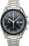 Timepieces:Wristwatch, Omega Scarce 376.0822 Speedmaster Automatic Chronograph, circa 1987. ...