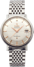 Timepieces:Wristwatch, Omega Constellation Chronometer with Date, circa 1960's. ...