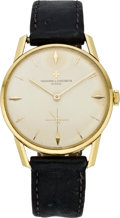 Timepieces:Wristwatch, Vacheron & Constantin Men's Gold Wristwatch, circa 1960's. ...