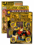 Golden Age (1938-1955):Classics Illustrated, Classic Comics #1, 21 and 36 Group (Gilberton, 1944-64) Condition:Average VG+.... (Total: 3 Comic Books)