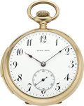 Timepieces:Pocket (pre 1900) , Swiss Gold Minute Repeater Retailed by Kyrie Bros., circa 1895. ...