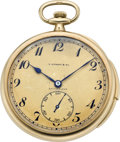 Timepieces:Pocket (post 1900), Patek Philippe & Co. Minute Repeater for Tiffany, circa 1920's. ...