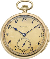 Patek Philippe & Co. Minute Repeater for Tiffany, circa 1920's