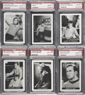 "Non-Sport Cards:Lots, 1967 Topps ""Star Trek"" PSA-Graded Group of (6) - All Highest GradeKnown...."