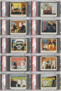 "Non-Sport Cards:Lots, 1941 R41 ""Dick Tracy Caramels"" High End PSA-Graded Collection (17 Different)...."