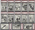 "Non-Sport Cards:Lots, 1965 Topps ""Gilligan's Island"" High End PSA-Graded Collection(13)...."