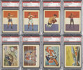 Non-Sport Cards:Sets, 1956 Topps Adventure Near Set (99/100)....