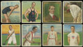 "Miscellaneous Collectibles:General, 1910 T218 Mecca ""Series of Champion Athletes and Prize Fighters"" Group of (57 Different). ..."